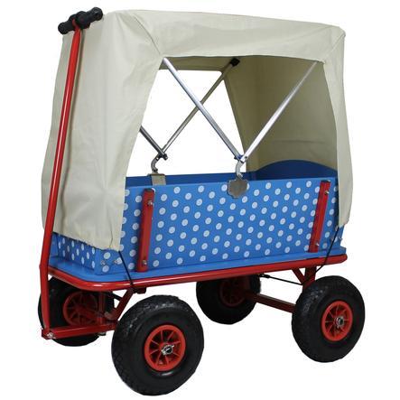 BEACHTREKKER Bollerwagen - Bollerwagen Style, Blaubeere mit Faltdeck