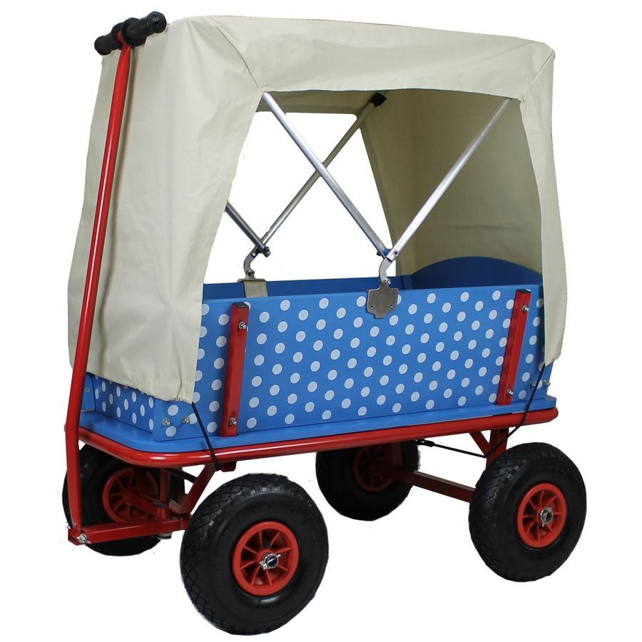 BEACHTREKKER Wózek do ciągnięcia - Style z daszkiem, czarna jagoda