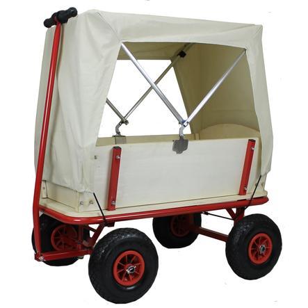 BEACHTREKKER Wózek do ciągnięcia - Style z daszkiem, naturalny