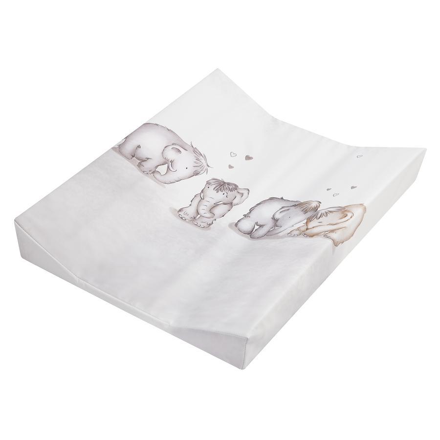 julius z llner wickelauflage 2 keil mulde folie mammuts in love 50 x 65 cm baby. Black Bedroom Furniture Sets. Home Design Ideas