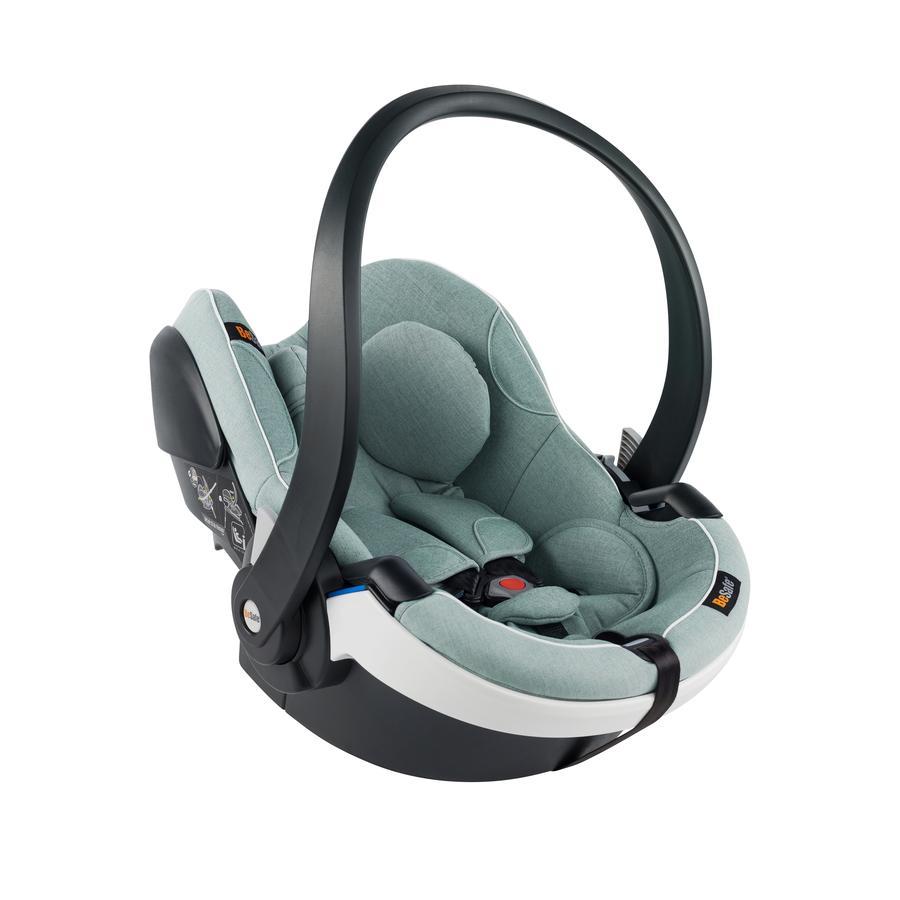 BeSafe Babyschale iZi Go Modular i-Size White Edge Sea Green Melange