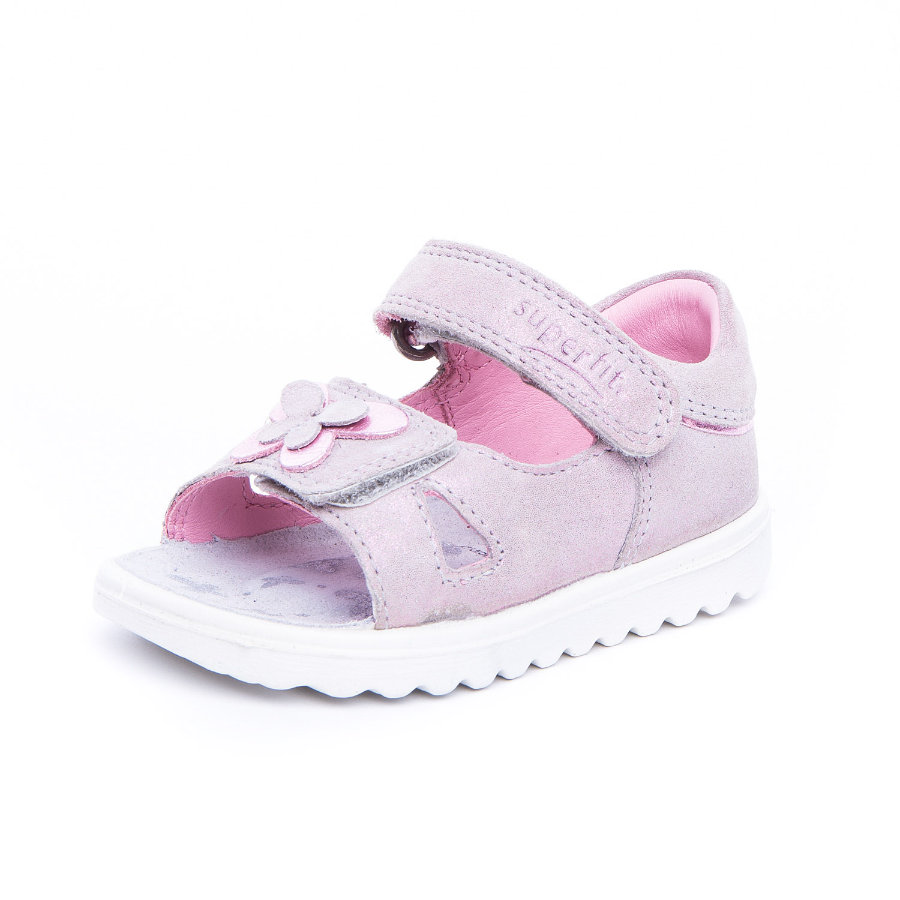 superfit Girl s Sandal Lettie smoke kombi (mediano)