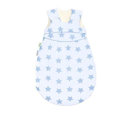 odenwälder Schlafsack Klimasoft warm soft stars cool blue 60cm - 110cm