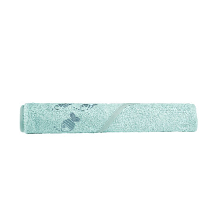 odenwälder Serviette de bain capuche enfant cool fish 100x100 cm frozen mint