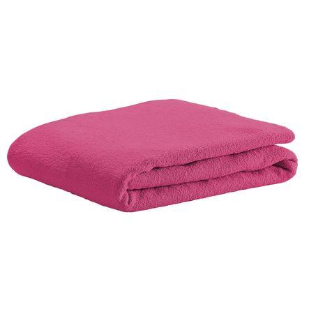 odenwälder Spannbetttuch Frottee soft pink