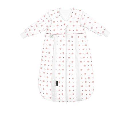 odenwälder Babynest prima klima - Thinsulate Jersey spacák hvězdy světle korál 60cm - 110cm