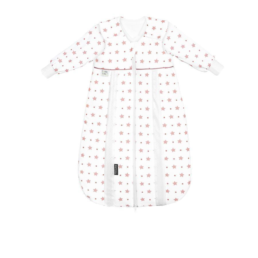 odenwälder Sac de couchage Thin pour bébé Jersey - sac de couchage star s light coral 60cm - 110cm