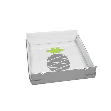 odenwälder Leikkikehän alusta männyn omenapistepisteet vaaleanharmaa