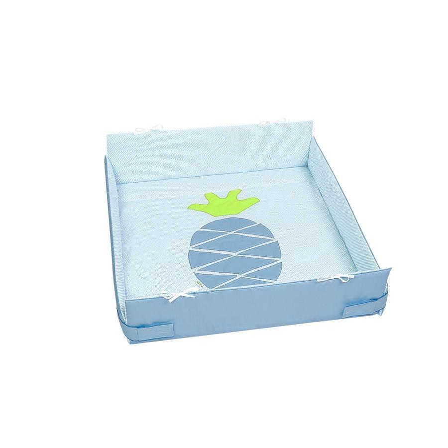 odenwälder Kinderbox inleg pineapple dots zacht mint