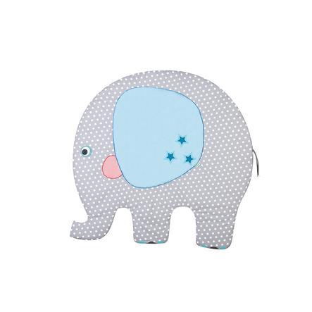 oldenwälder Tapis d'éveil George l'éléphant argenté 130x125 cm