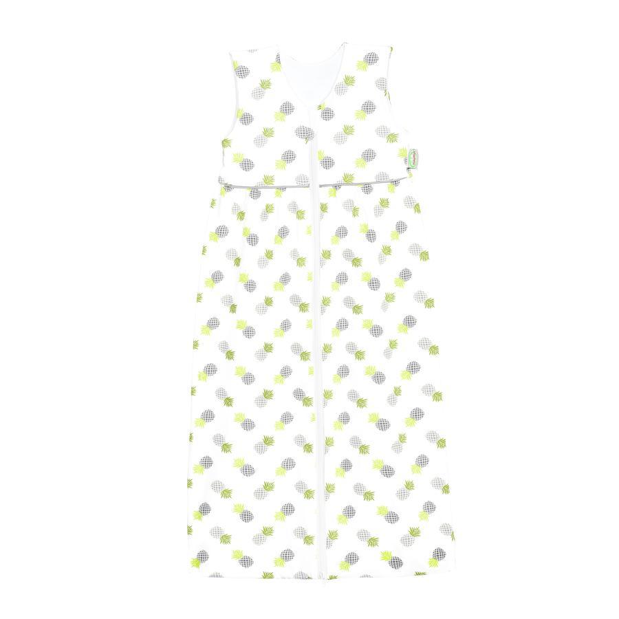 ODENWÄLDER Jersey Sac de couchage Anni pineapple grey 70cm - 130cm