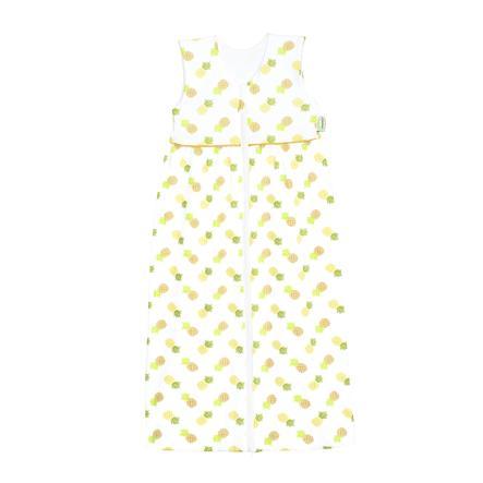 ODENWÄLDER Jersey Sac de couchage Anni pineapple yellow 70cm - 130cm