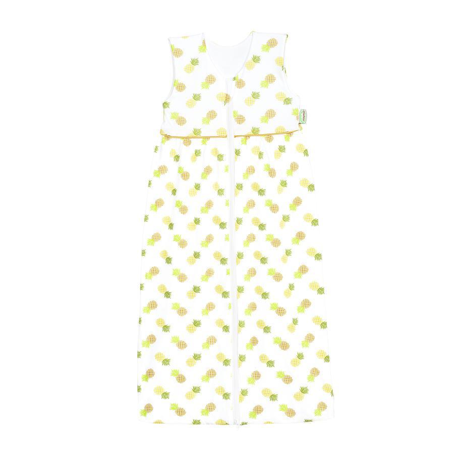 ODENWÄLDER Jersey Slaapzak Anni pineapple yellow 70cm - 130cm