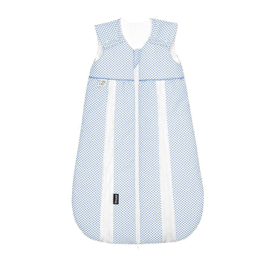 odenwälder Babynest prima klima Thinsulate-Schlafsack dots cool blue 60cm - 110cm