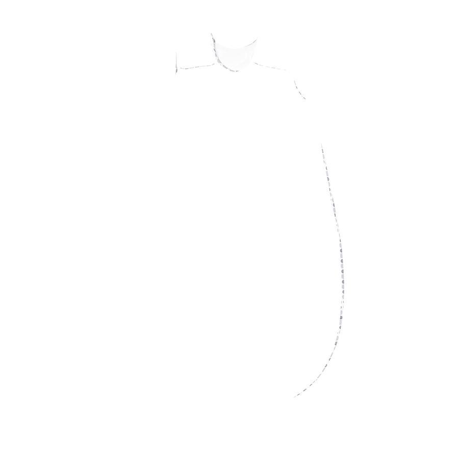 odenwälder basi Primo sacco a pelo fatto di Jersey macchie silver & 60cm grey - 70cm