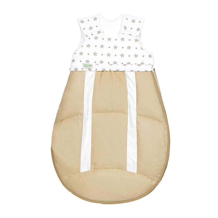 odenwälder 4allSeasons ClimaBalance® Schlafsacksystem 2-teilig stars soft cookie 70 - 110 cm