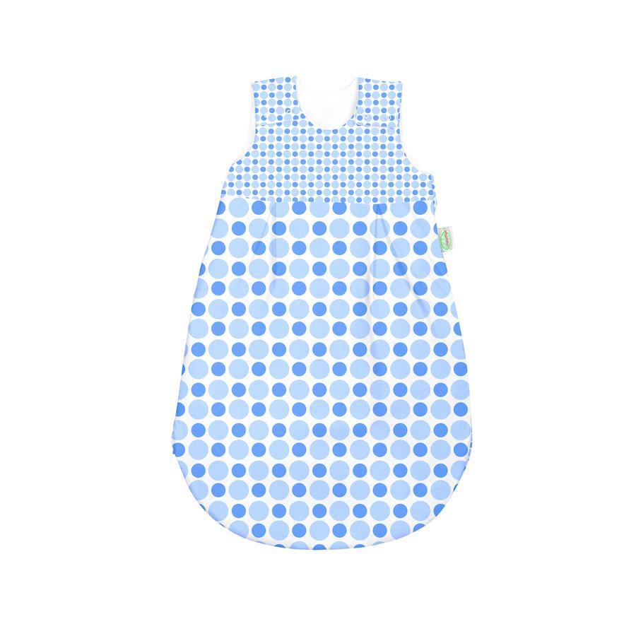 ODENWÄLDER basic Jersey-letní spací pytel kolečka a puntíky modrý 70 cm - 110 cm
