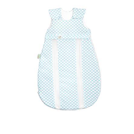 odenwälder Jersey -sac de couchage prima climat check doux mint 60 cm - 130 cm