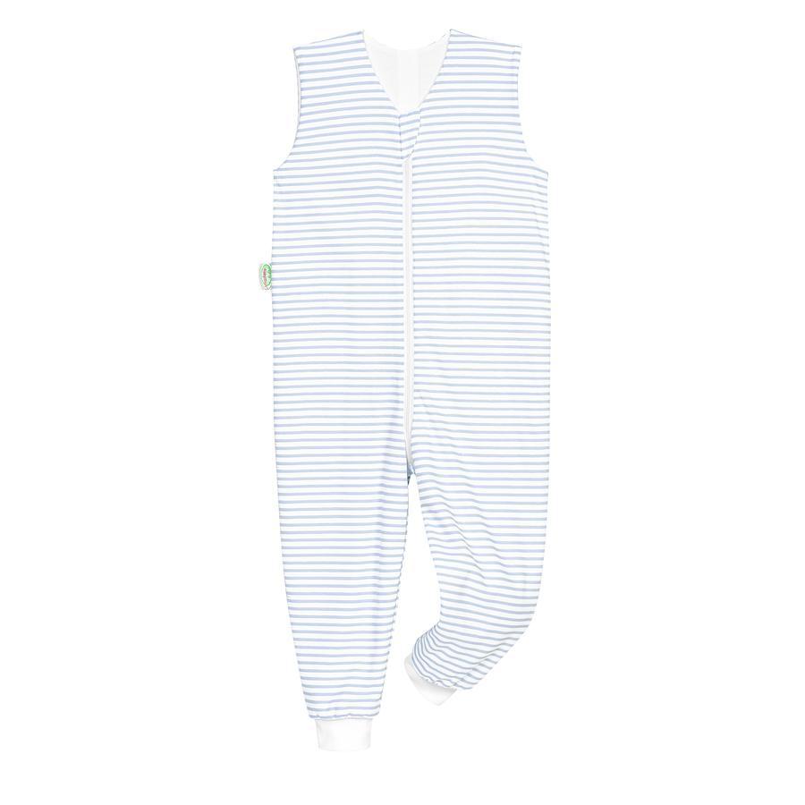 odenwälder Sommer-Schlafoverall Hopsi stripes cool blue 86 cm - 116 cm