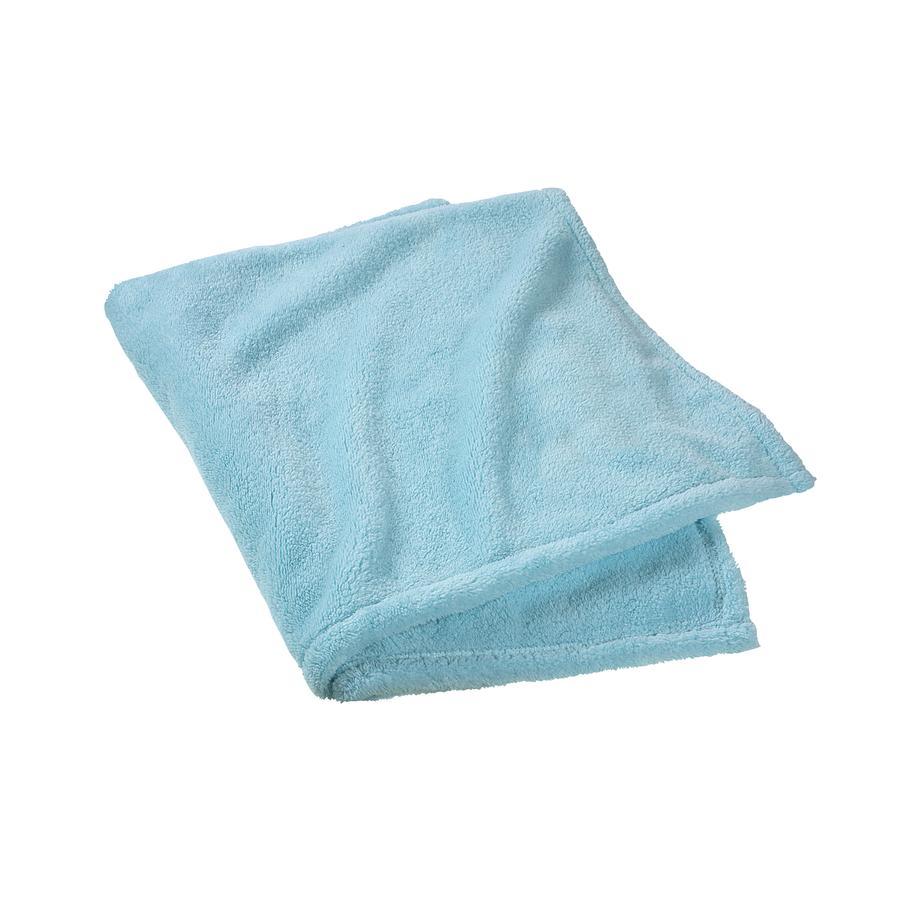 ODENWÄLDER Cuddly blanket Micro teddy mint