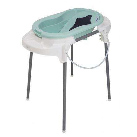 Rotho Babydesign Badestation TOP swedish green 4-teilig
