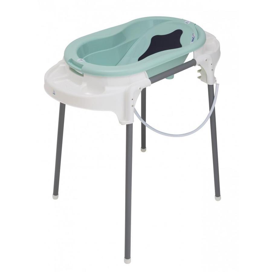 Rotho Baby design Badestasjon TOP svensk grønn 4-delt