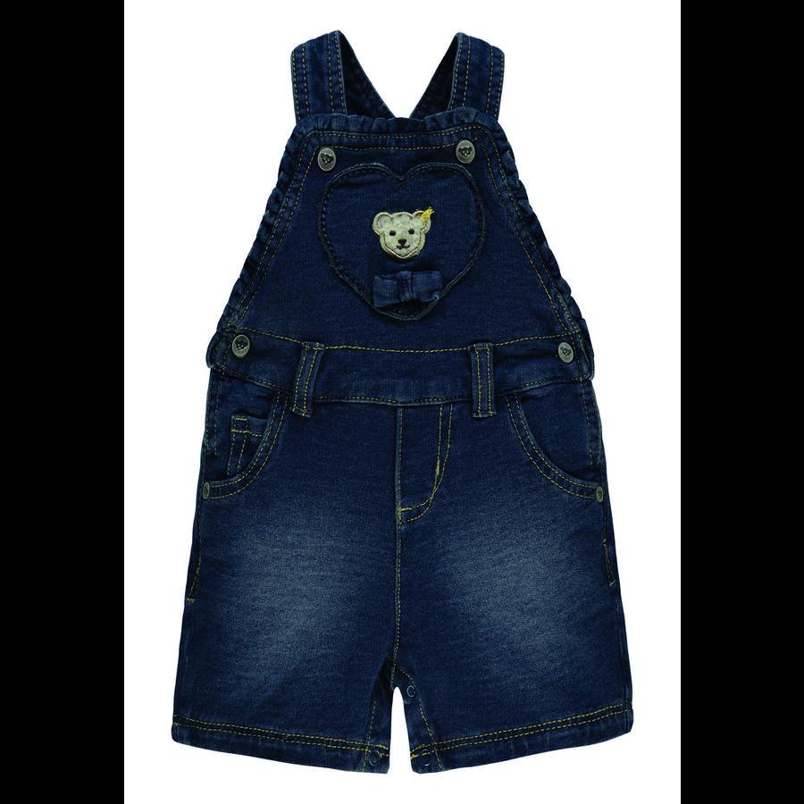 Steiff Girls Latzshorts Jeans