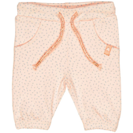 STACCATO Girls Hose soft blush gemustert