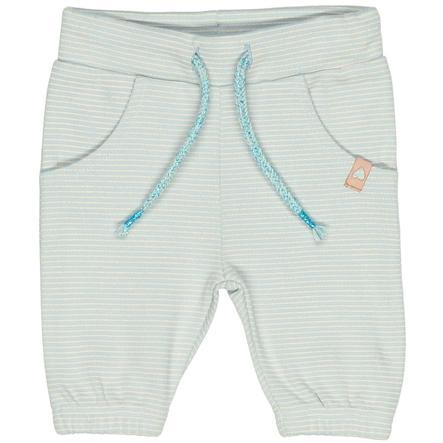 STACCATO Girl Spodnie spodnie z mięty pieprzowej w paski