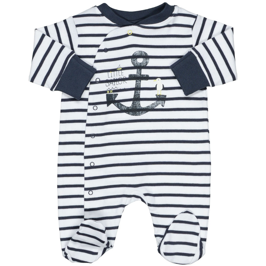 STACCATO Boys Schlafanzug Streifen weiß