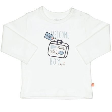 STACCATO Boys Camisa de manga larga blanco marfil