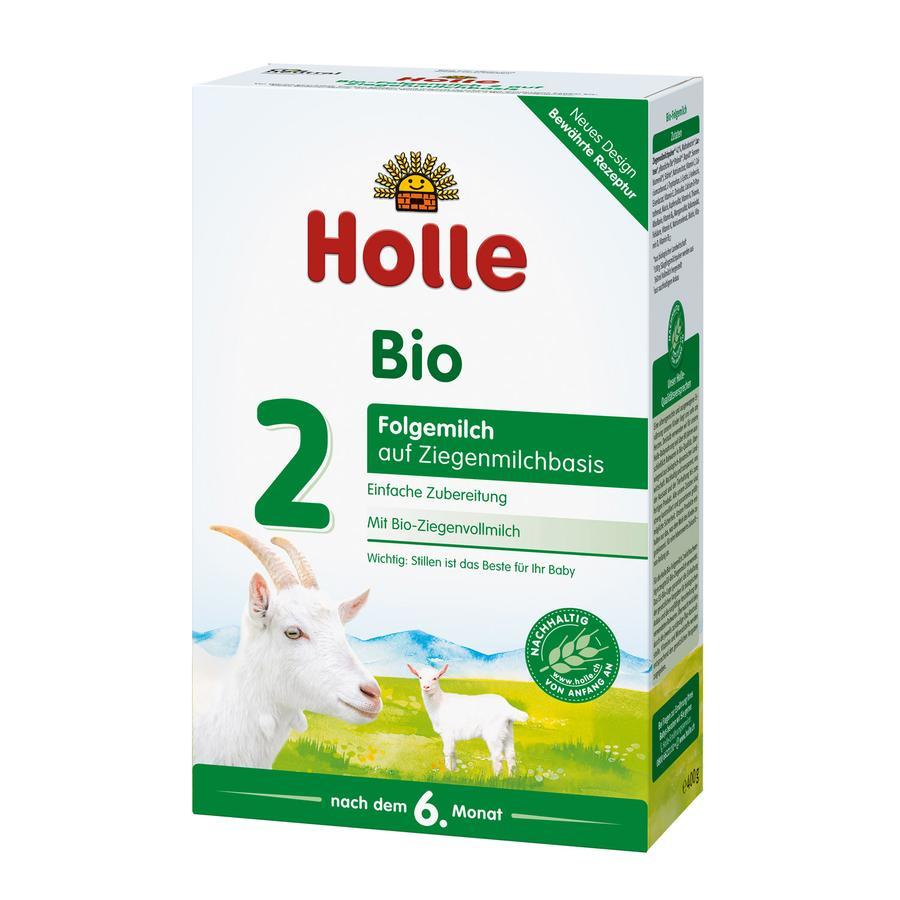 HOLLE Organic Follow-On 2 Goat Milk Base 400g