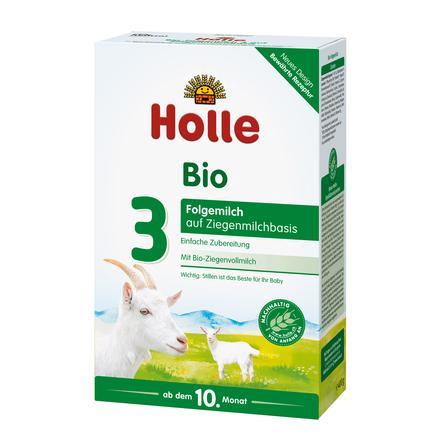 Holle Bio-Folgemilch 3 auf Ziegenmilchbasis 400 g ab dem 10. Monat