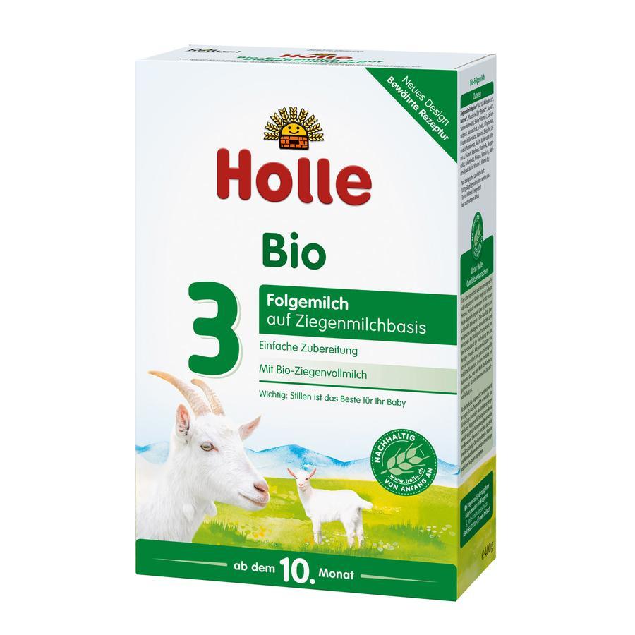 Holle Bio-Folgemilch 3 auf Ziegenmilchbasis 400 g