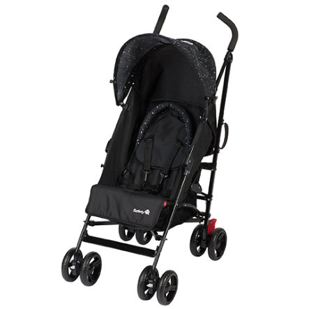 Safety 1st Buggy Slim Comfort Pack Splatter Black