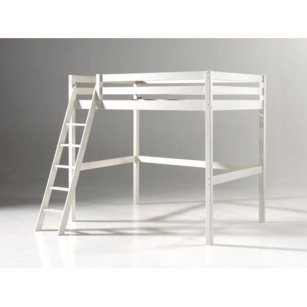 VIPACK vysoká postel Pino bílá 140 x 200 cm