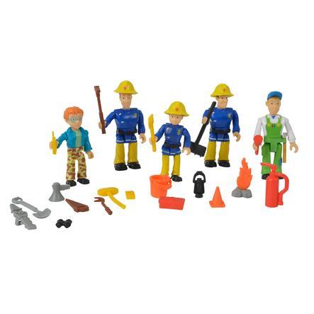 Simba Feuerwehrmann Sam - Figuren-Set, 5-teilig