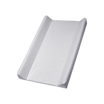 Rotho Babydesign Materassino per fasciatoio a cuneo Modern Square grigio trapuntato 50 x 70cm