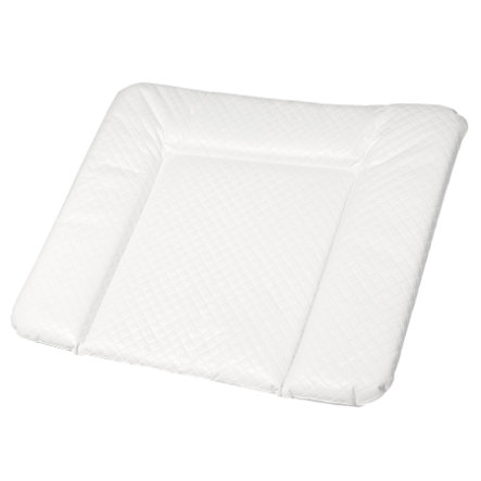 Rotho Babydesign Materassino per fasciatoio Modern Square bianco trapuntato 72 x 85cm