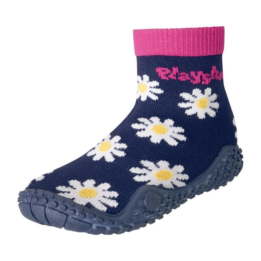 Playshoes Aqua-Socke Margarite marine