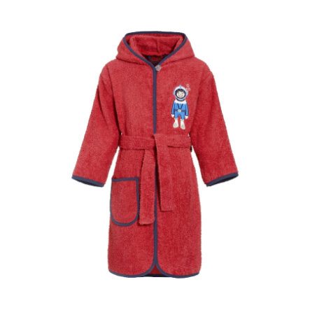 Playshoes Frottee-Bademantel Taucher rot