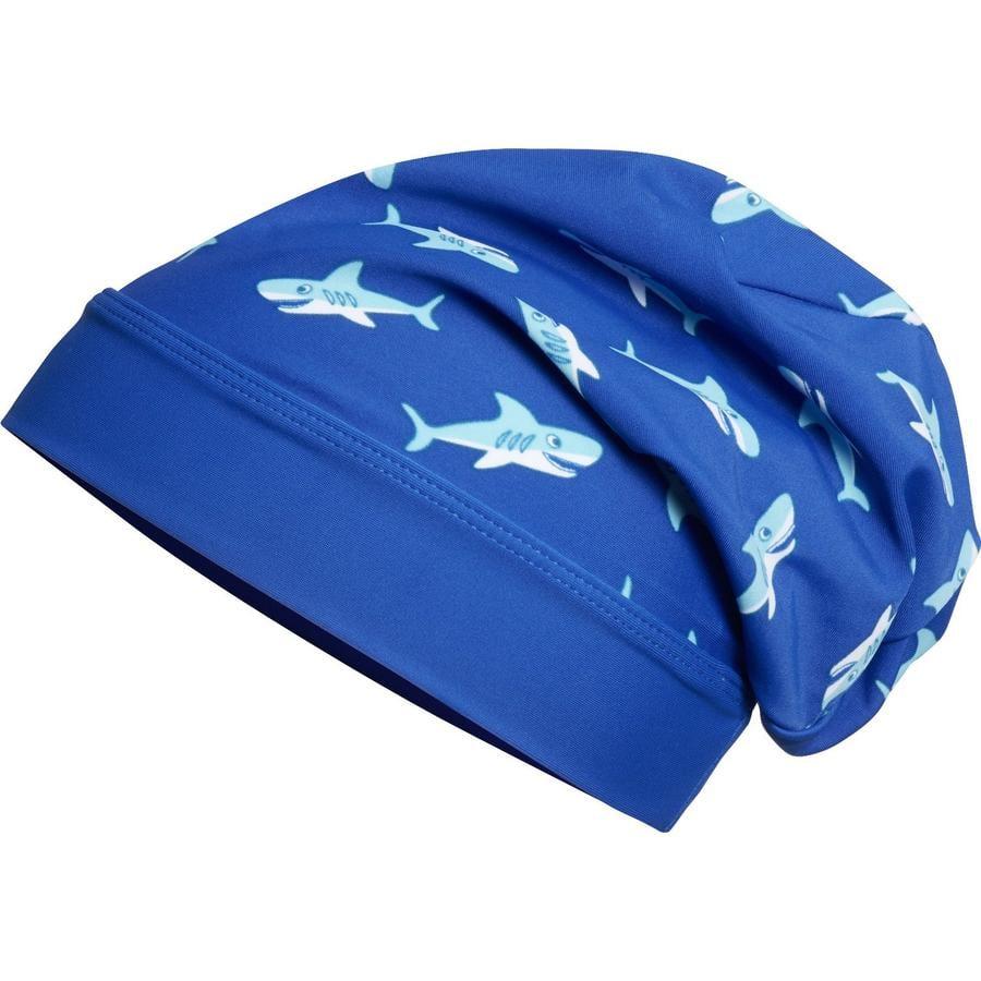 Playshoes Czapka UV Beanie Rekin
