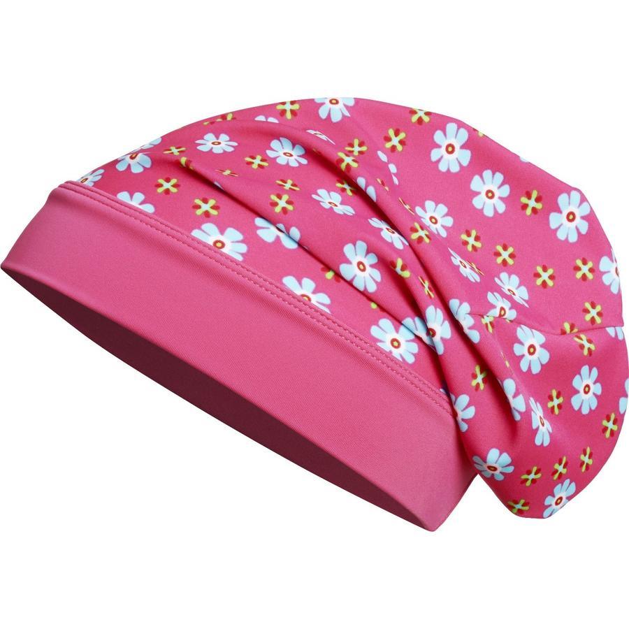 Playshoes Czapka UV Beanie Kwiatki