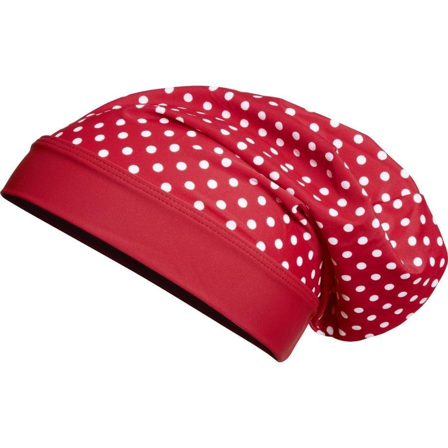 Playshoes Beanie anti-UV enfant pois rouge