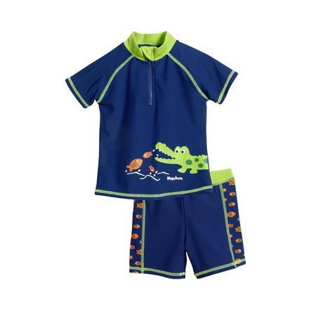 Playshoes Costume a due pezzi Protezione Anti-UV coccodrillo