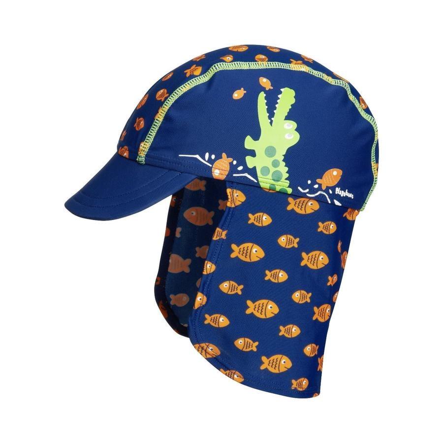 Playshoes UV-beschermingskap krokodil