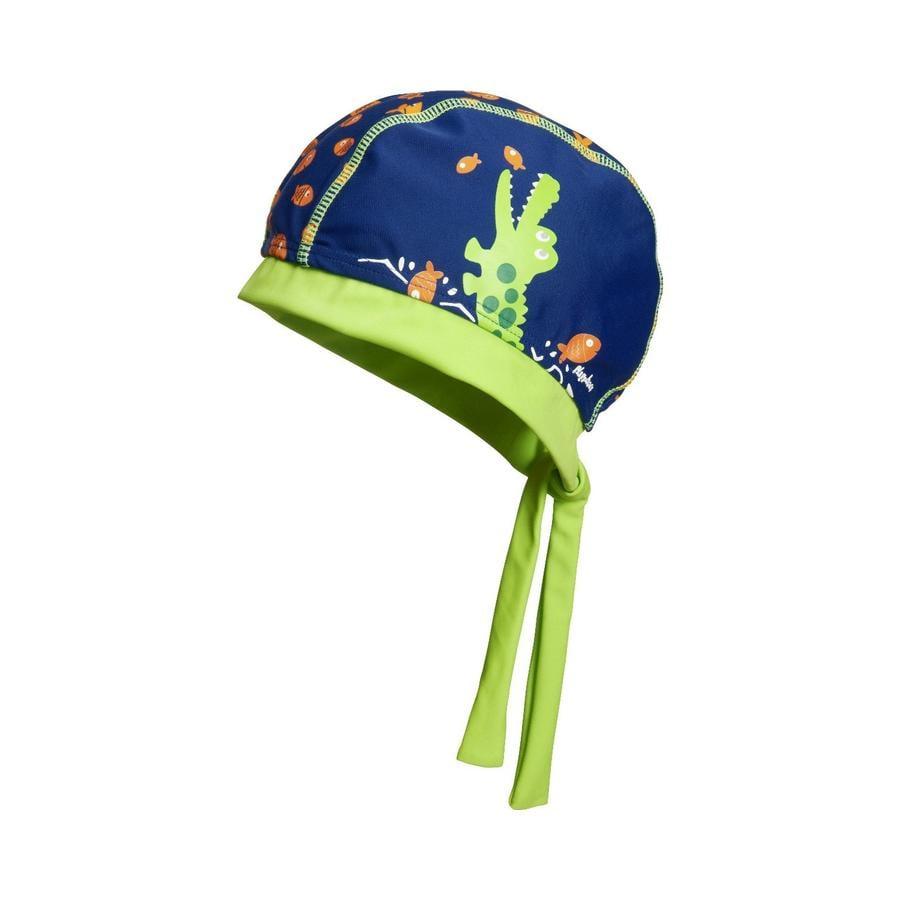 Playshoes Cappuccio di protezione UV coccodrillo