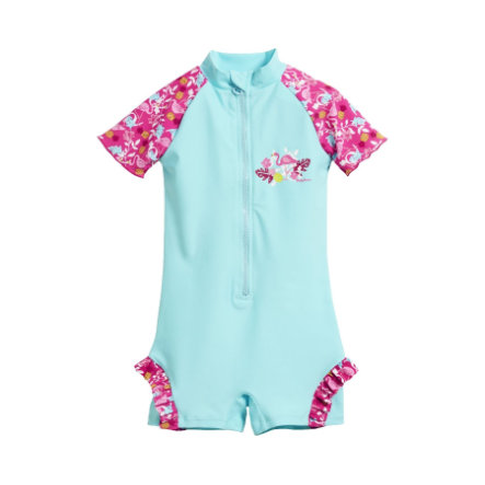 Playshoes Strój kąpielowy jednoczęściowy z ochroną UV Flamingo