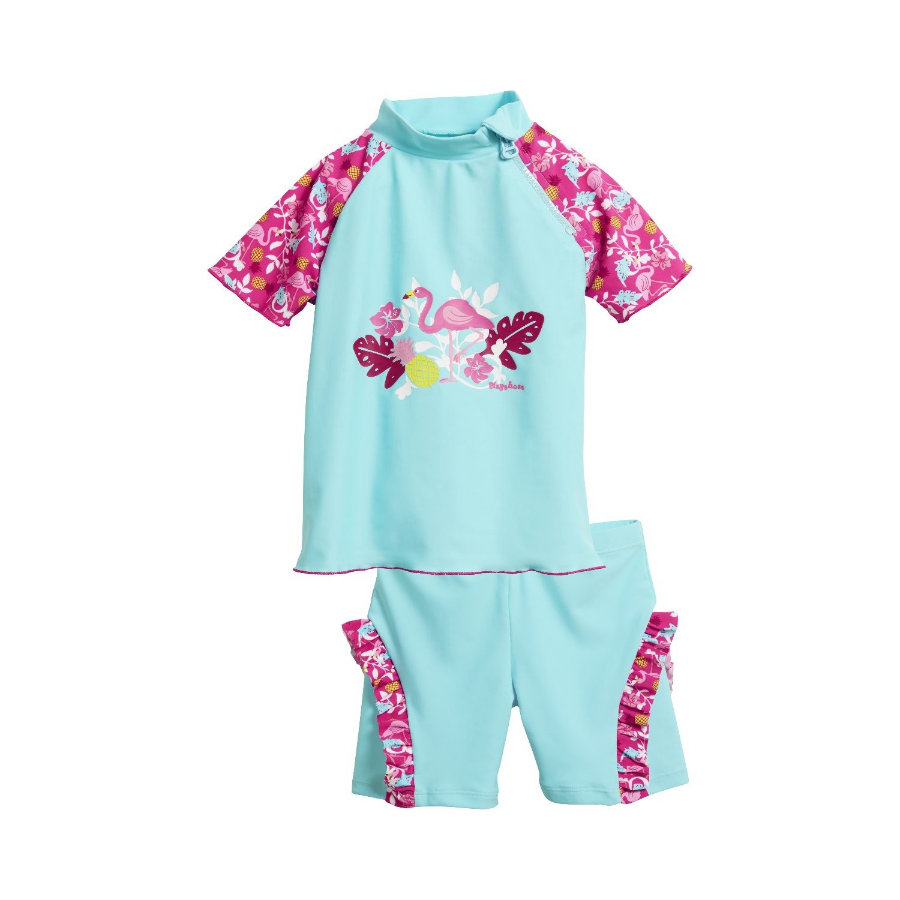 Playshoes UV-Schutz Bade-Set Flamingo