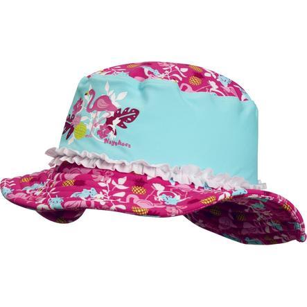 bd386bd57ad2 Playshoes Chapeau d été anti-UV enfant bleu flamant rose   roseoubleu.fr